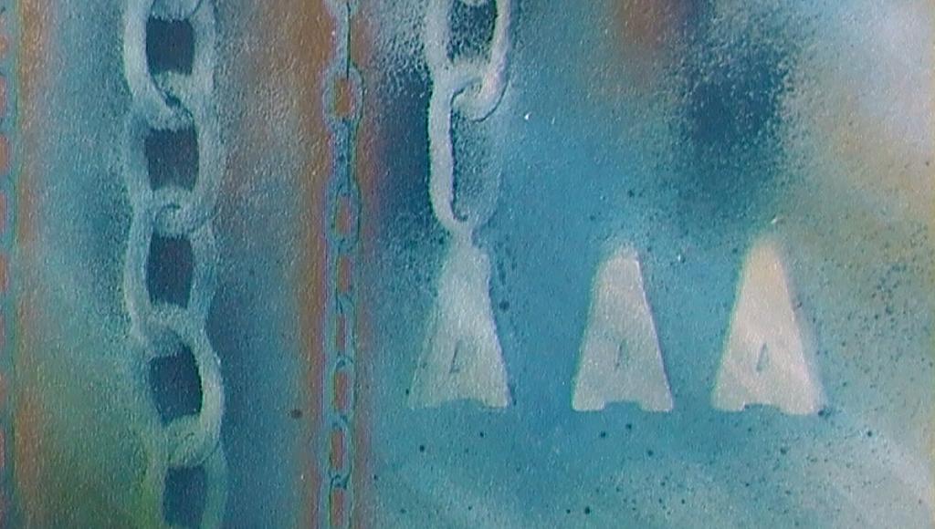 concatenamenti 1 (particolare) - daniele Rallo  - mista - 350 €
