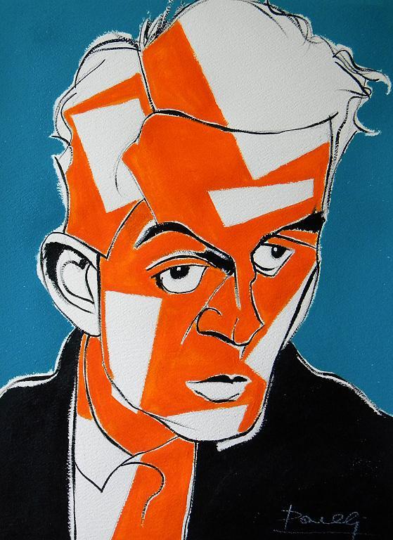 Ritratto di Egon Schiele - Gabriele Donelli - Acrilico - 300 €