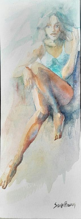 Jenny - SILVIA RIDOLFI - Acquerello - 90 €