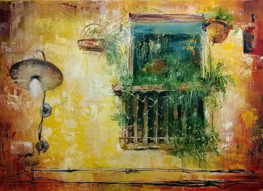 La finestra sul mondo vendita quadro pittura artlynow - La finestra sul mondo ...
