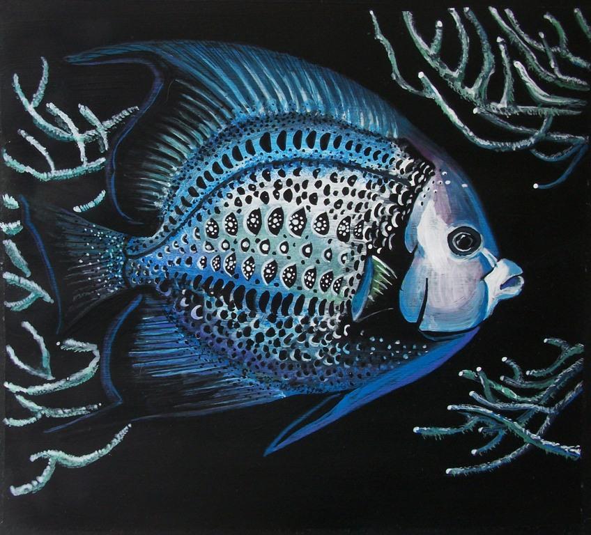 Pesce Angelo  - Ruzanna Scaglione Khalatyan - Tempera - 60 €