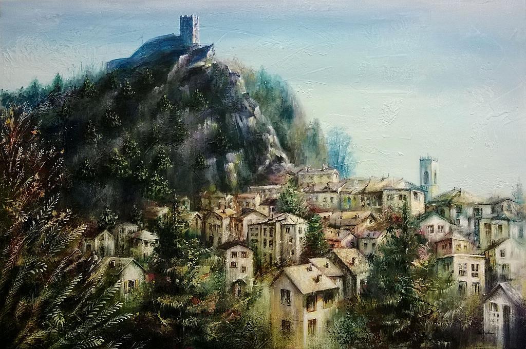 ricordo di Sestola - Mery BLINDU - Acrilico