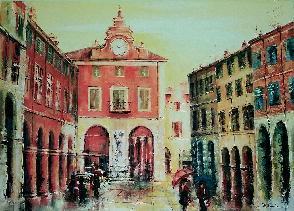 la storia a colori - Mery BLINDU - Acrilico
