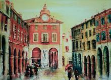 la storia a colori - Mery BLINDU - Acrilico - 200€