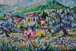 paesaggio garganico - michele la sala - Olio - 450,00 €
