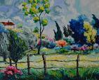 paesaggio ventilato - michele la sala - Olio - 500,00 €