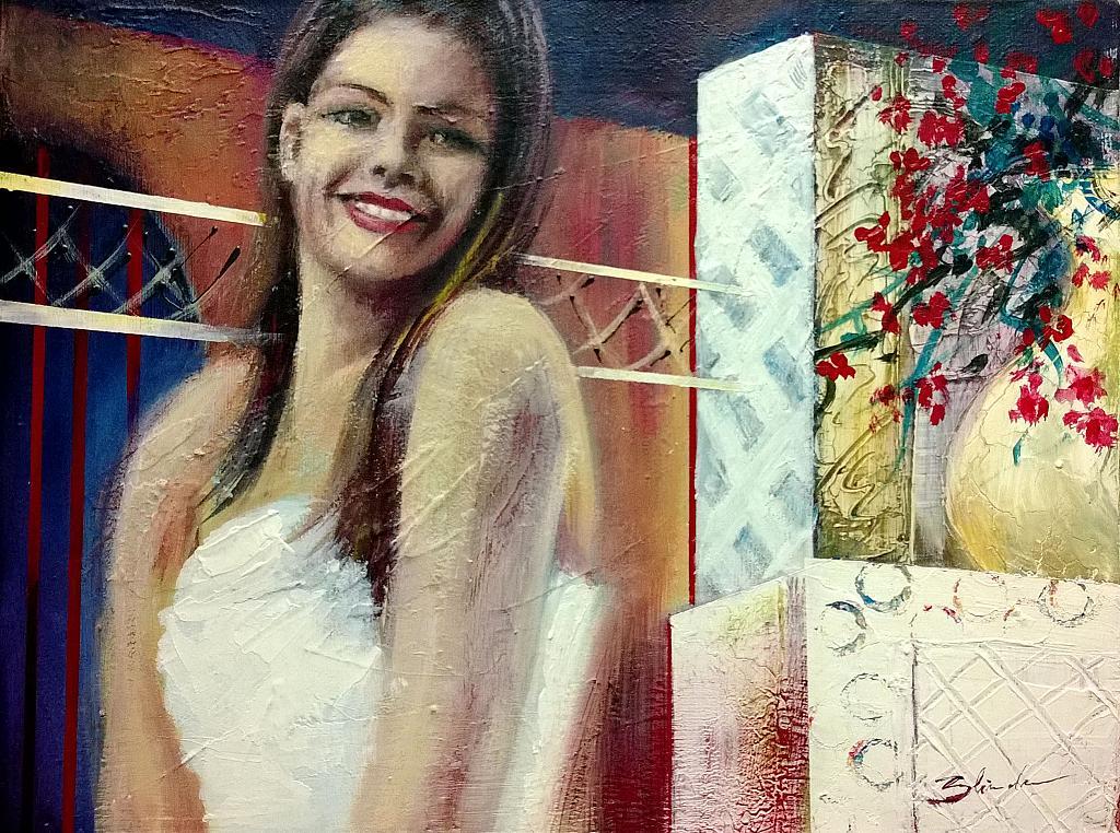 ballerina - Mery BLINDU - Acrilico
