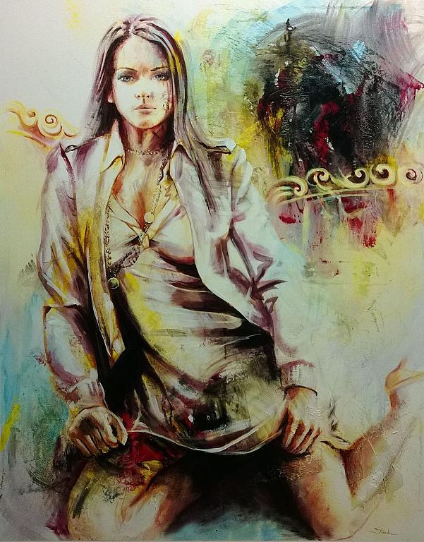 provocazione - Mery BLINDU - Acrilico
