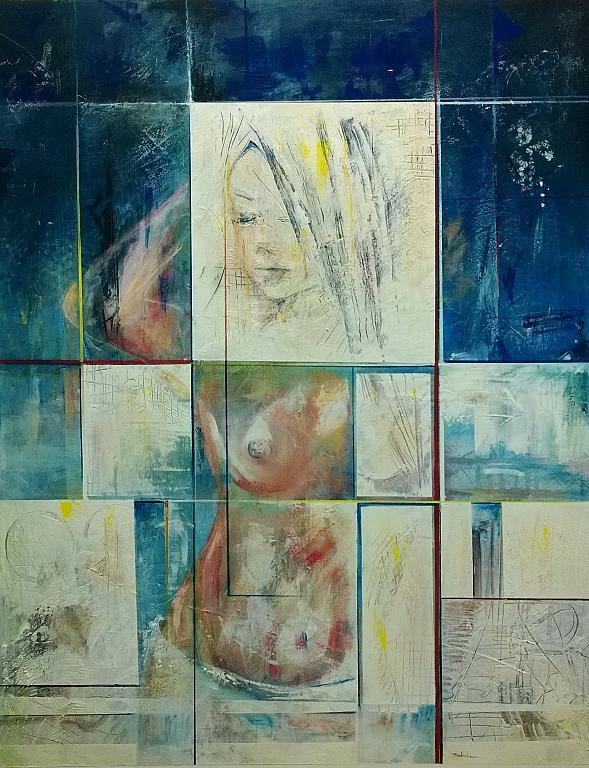 frammenti di specchio - Mery BLINDU - Acrilico
