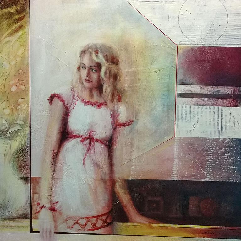 la vita in un attimo - Mery BLINDU - Acrilico
