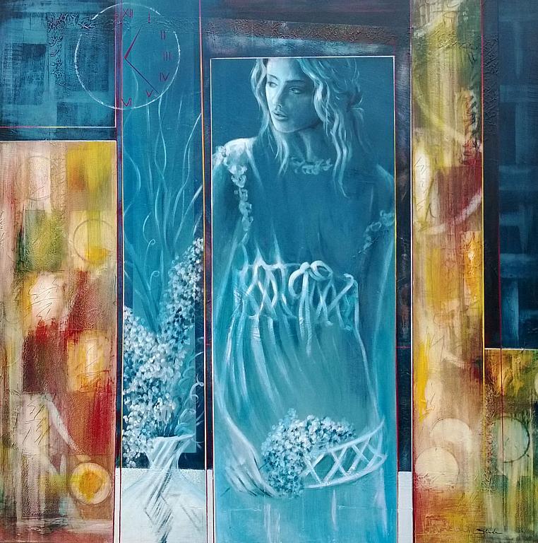 profonda gratitudine  - Mery BLINDU - Acrilico