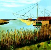 Paesaggio fluviale(Ravenna) - Michele De Flaviis - Digital Art