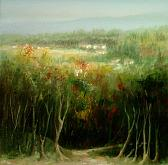 autunno  - Mery BLINDU - Acrilico