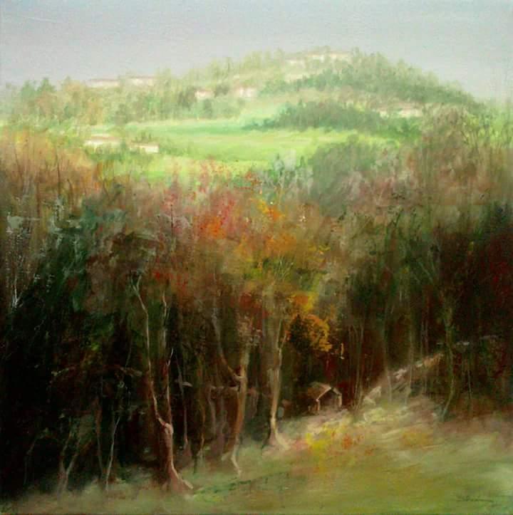 autunno 2 - Mery BLINDU - Acrilico