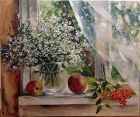 Finestra - Olga Maksimova - Olio - 80€