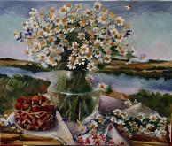 Fiori - Olga Maksimova - Olio - 130€