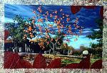 L'albero di kaki - Paolo Benedetti - Acrilico - 200 €
