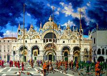 Basilica di S. Marco (VE) - Paolo Benedetti - Acrilico - 250€
