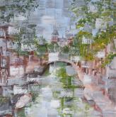 Reflets.. d'un Sentiment     (Riflessi.. di un Sentimento) - Luana Marchisio - Olio - 150€