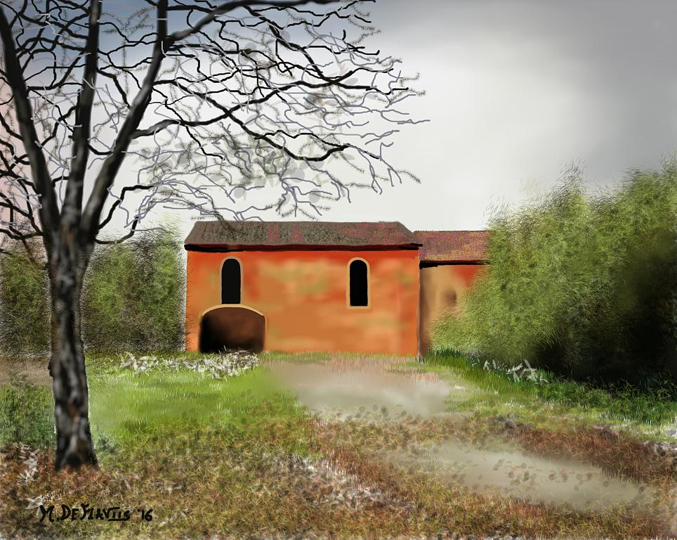 Cascina abbandonata - Michele De Flaviis - Digital Art - 100 €