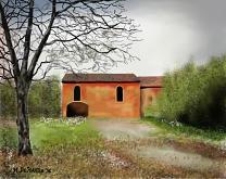 Cascina abbandonata - Michele De Flaviis - Digital Art - 100€