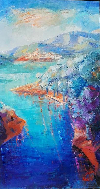 Lago del Salto - SILVIA RIDOLFI - Olio - 350,00 €