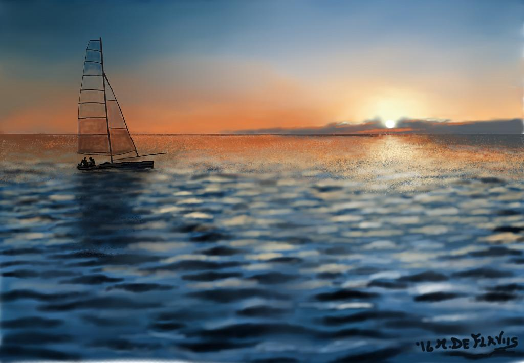 Pesca - Michele De Flaviis - Digital Art