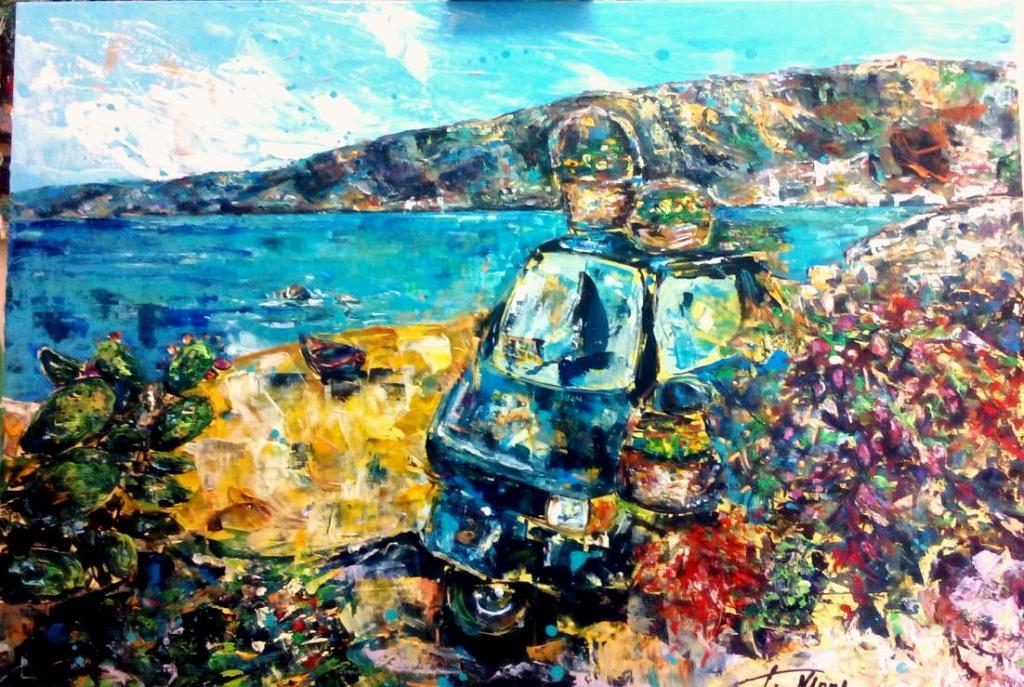 Vacanze in Calabria - tiziana marra - tecnica mista - 420,00 €