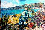 Vacanze in Calabria - tiziana marra - tecnica mista - 420,00€ - Venduto!