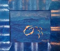 acquario - franco scacchi - Acrilico - 150€