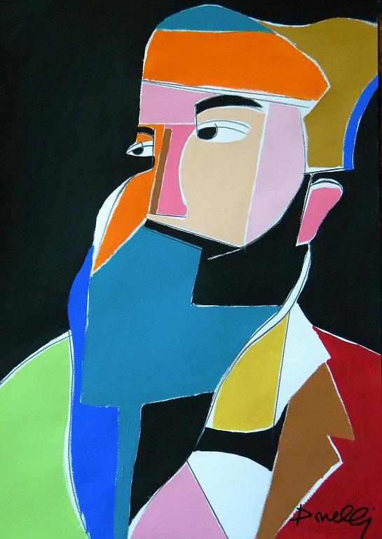 Ritratto di Claude Monet - Gabriele Donelli - Acrilico - 400 €