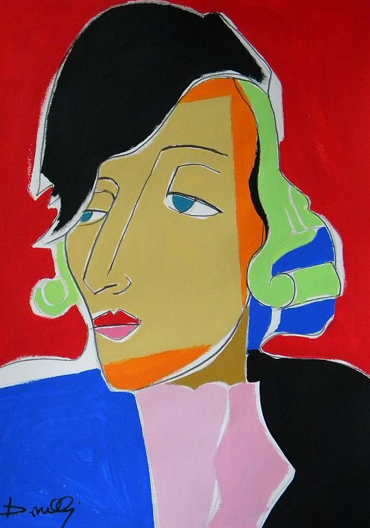 Ritratto di Tamara de Lempicka - Gabriele Donelli - Acrilico - 800 €