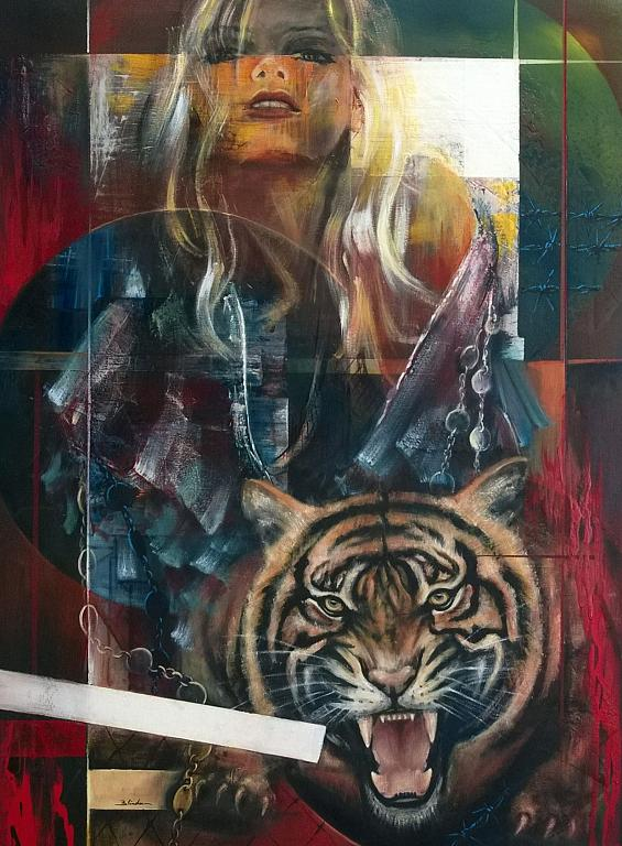 Senza paura - Mery BLINDU - Acrilico