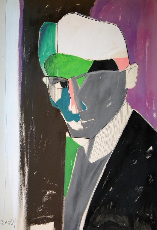 Ritratto di Franz Kafka - Gabriele Donelli - Acrilico - 800 €