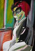 Ritratto di Luana Ghidotti - Gabriele Donelli - Acrilico - 400€