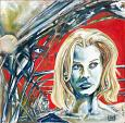 Paris Texas - Lucio Forte - Oil -  euro