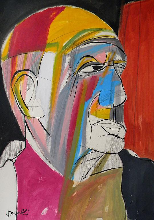 Ritratto di Pablo Picasso - Gabriele Donelli - Acrilico - 400 €