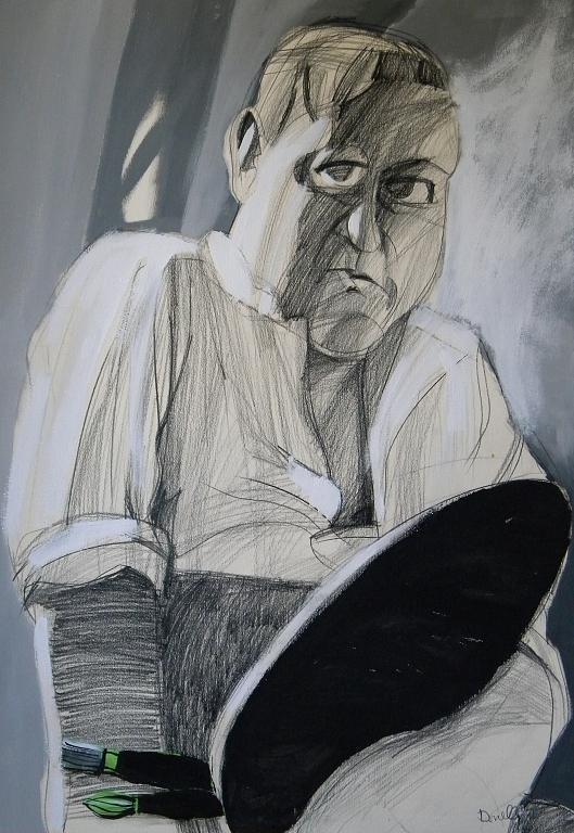 Ritratto di Andre Derain - Gabriele Donelli - Matita e acrilico - 400 €
