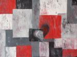 Un Lui.. una Lei..    - opera n.3 della serie Ricordi - Luana Marchisio - Olio - 140€