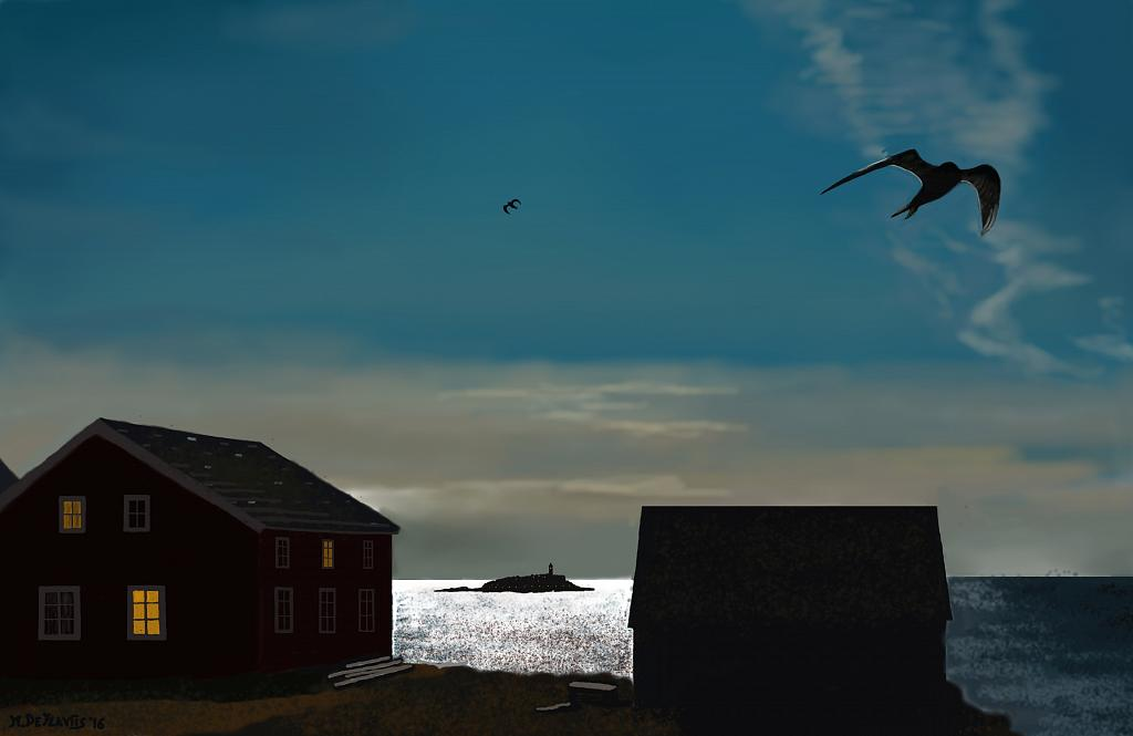 Paesaggio islandese - Michele De Flaviis - Digital Art
