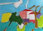 Paesaggio - Gabriele Donelli - Acrilico - 400€