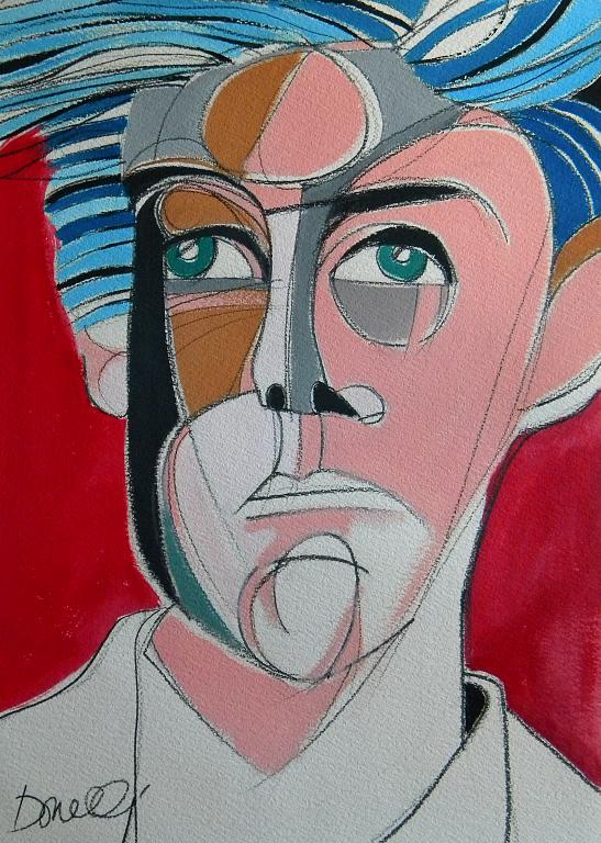 Ritratto di Arthur Rimbaud - Gabriele Donelli - Acrilico - 1200 €