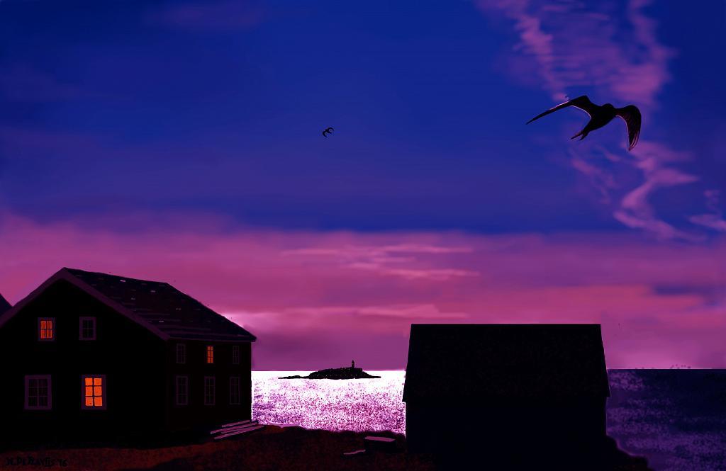 Paesaggio islandese2 - Michele De Flaviis - Digital Art