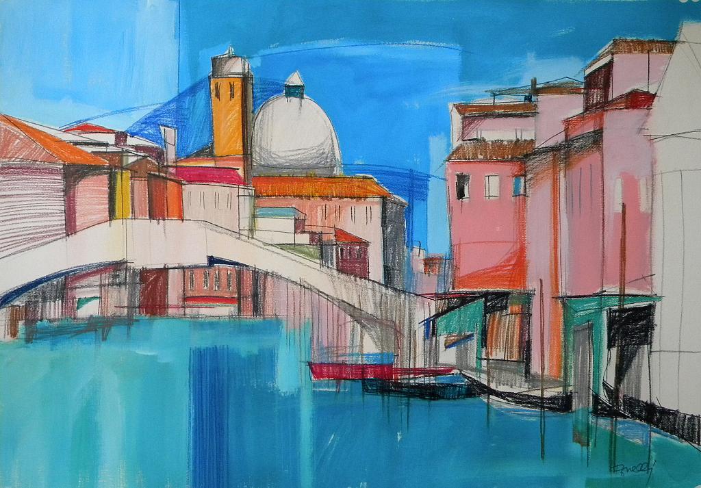 Venezia - Gabriele Donelli - Pastello e acrilico - 400 €