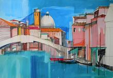 Venezia - Gabriele Donelli - Pastello e acrilico - 400€