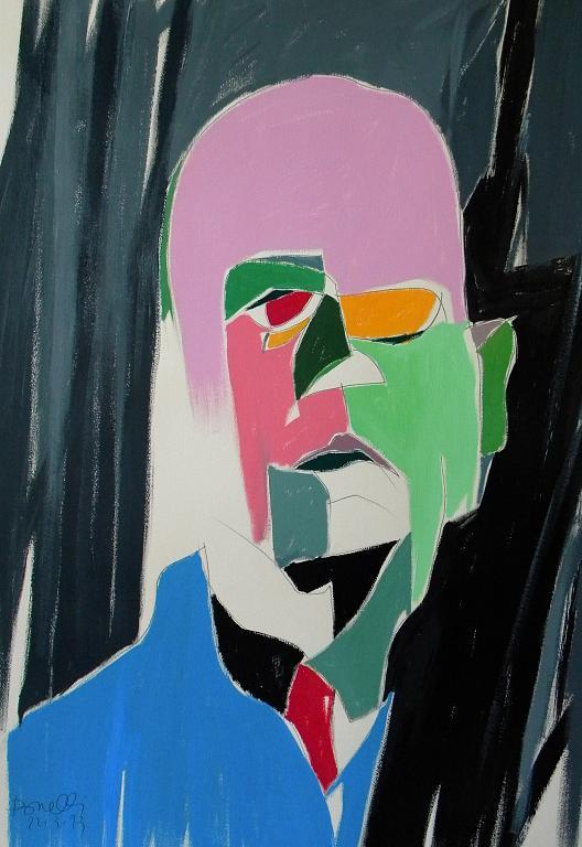 Ritratto di Dino Campana - Gabriele Donelli - Acrilico - 400 €