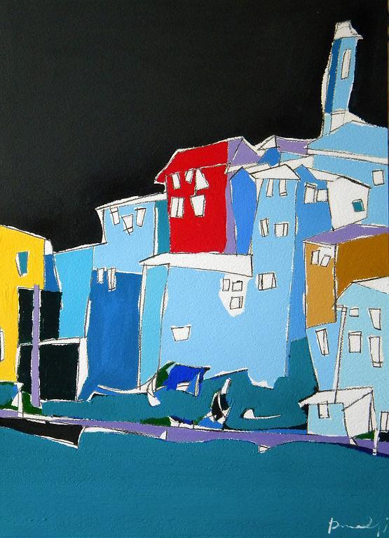 Clusane - Gabriele Donelli - Acrilico - 900 €
