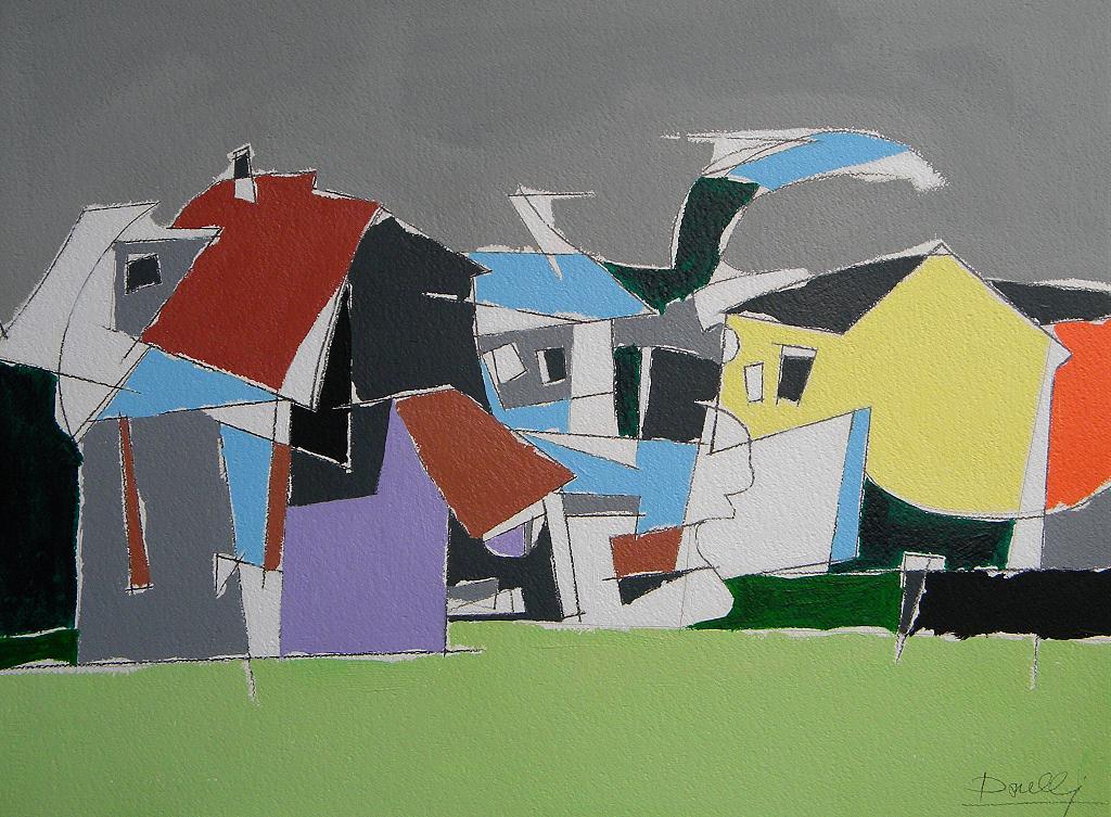 Paesaggio invernale - Gabriele Donelli - Acrilico - 1200 €