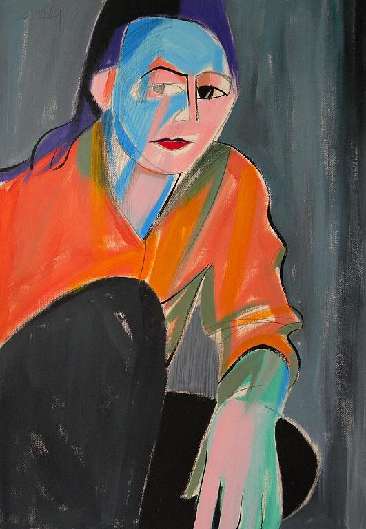 Ritratto di Liliana Moro - Gabriele Donelli - Acrilico - 1100 €