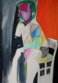 Autoritratto - Gabriele Donelli - Pastello e acrilico - 400€